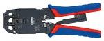 KNIPEX - 97 51 12 - Crimpzange für Westernstecker, WL42664