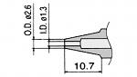 HAKKO - N3-13 - Entlötdüse für FM-2024-02, WL23423