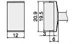 HAKKO - T12-1010 - Lötspitze für FM-2027 / FM-2028, WL23171