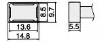 HAKKO - T12-1201 - Lötspitze für FM-2027 / FM-2028, WL23153