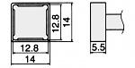 HAKKO - T12-1203 - Lötspitze für FM-2027 / FM-2028, WL23155