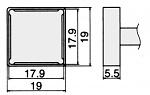 HAKKO - T12-1204 - Lötspitze für FM-2027 / FM-2028, WL23156