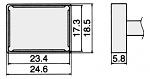 HAKKO - T12-1205 - Lötspitze für FM-2027 / FM-2028, WL23157