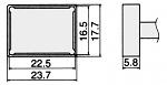 HAKKO - T12-1206 - Lötspitze für FM-2027 / FM-2028, WL23158