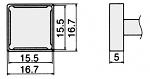 HAKKO - T12-1207 - Lötspitze für FM-2027 / FM-2028, WL23159