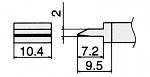 HAKKO - T15-1401 - Lötspitze für FM-2027 / FM-2028, klingenförmig, WL23147
