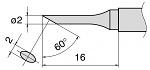 HAKKO - T15-CF2 - Lötspitze für FM-2028, abgeschrägt, WL27367