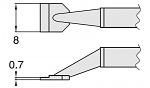 HAKKO - T8-1006 - Entlötspitzenpaar für FM-2022, WL23410
