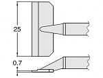 HAKKO - T8-1011 - Entlötspitzenpaar für FM-2022, WL23415