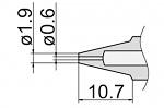 HAKKO - N3-06 - Entlötdüse für FM-2024, WL39879