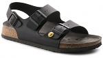 BIRKENSTOCK - MILANO - ESD sandals MILANO, black, size 35, WL41471