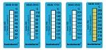 TESTO - 0646 0108 - Temperature measuring strips 37-65°C, WL17884