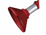 ALSIDENT - 1-5024-4 - Suction hood DN 50 / D = 200 mm / red, WL15452