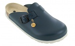 VITAFORM - 3412-21-36 - ESD-Clogs 3412, 36, blau, Vollrindleder, Clogs, WL10037