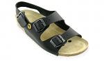 VITAFORM - 3520-30-36 - ESD sandals 3520, black, WL35343