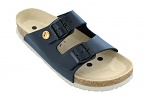 VITAFORM - 3670-21-35 - ESD-Sandalen 3670, 35, blau, Vollrindleder, Pantolette, WL10222