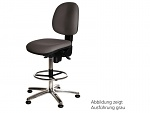 WARMBIER - 1710.KS.B - ESD work chair COMFORT / high, WL20841