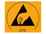 WARMBIER - 2850.3025 - ESD warning sign, EPA area, WL21008