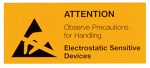 WARMBIER - 2850.3675.E - ESD warning sign (packaging), WL21005