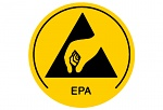WARMBIER - 2850.10 - ESD warning sign, EPA area, WL30516