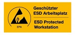 WARMBIER - 2850.4090.DE - ESD warning sign, ESD/EPA area, WL20398
