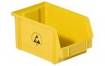 WARMBIER - 5321.Y.4 - ESD-Sichtlagerkasten, gelb, WL26165