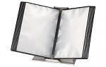 WARMBIER - 5600.101 - Tischständer + 10 ESD-Schwenktafeln, transparent, WL23771