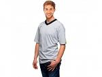 WARMBIER - 2656.TV.XS - ESD T-Shirt V-neck, grey, XS, WL35210