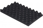 WARMBIER - 4470.1.32 - ESD foam, black, soft 253 x 153 x 20 mm profile 1:1, WL32225