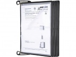 WARMBIER - 5600.150.M - Wall bracket system with fold-away pivoting document holders, WL42925