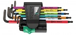 WERA - 950/9 Hex-Plus Multicolour 1 - L-key set, metric, WL36909