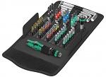 WERA - Kraftform Kompakt 100 - Kompaktes Werkzeug-Set, 52-teilig, WL36905