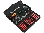 WERA - Kraftform Kompakt W 1 Wartung - Kompaktes Werkzeug-Set, 35-teilig, WL36906
