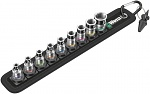 WERA - 05003880001 - Belt 1 Zyklop socket set with holding function, WL42341