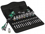 "WERA - 8100 SA 6 - Zyklop Speed Ratchet Set, 1/4"" drive, metric, WL44884"