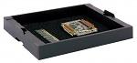 HANS KOLB - 05-CTR-EL - Tray stapelbar, Schaum schwarz, schwarz, WL31525
