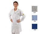 SAFEGUARD - SafeGuard ESD - ESD lab coat, royal blue XS, WL31744