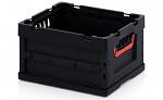 ESD FB 43/22 - ESD-Faltbox ohne Deckel, 400 x 300 x 220 mm (de), WL45568
