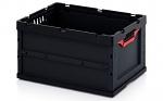 ESD FB 64/32 - ESD-Faltbox ohne Deckel, 600 x 400 x 320 mm (de), WL45464