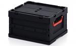 ESD FBD 43/22 - ESD Faltbox mit Deckel, 400 x 300 x 220 mm (de), WL45478
