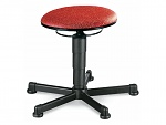BIMOS - 9467-6803 - stool 1, fabric upholstery red, WL40310