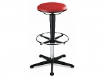 BIMOS - 9469-6903 - stool 3, artificial leather red, WL40333