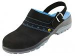 ATLAS - ESD GX 390 black - ESD women safety clogs, WL30535