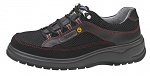 ABEBA - 31056-35 - ESD-Sicherheitsschuh, 35, schwarz, Leder, Halbschuh, WL29369