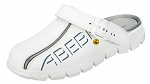 ABEBA - 37310-37 - ESD-Clogs, 37, weiß, Leder, Clogs, WL32744