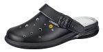 ABEBA - 37631-35 - ESD-Clogs, 35, schwarz, Leder, Clogs, WL29768