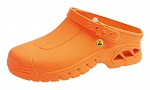 ABEBA - 39630-35-36 - ESD-Clogs, orange, Autoklavierbares Spezialmaterial, Clogs, WL29898