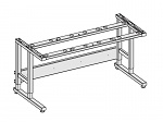 KARL - 26.003.70 - ESD table frame Sintro clamps, 930 x 750 mm, WL41242