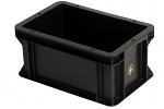 WEZ - 3213.007. - ESD-Behälter 300x200x145 mm, WL35687
