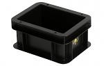 WEZ - 2108.007. - ESD-Behälter, schwarz, 200 x 150 x 100, WL34811